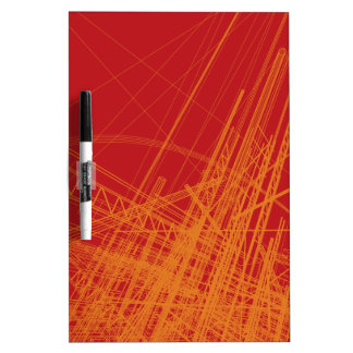 Wire Frame Structures Dry-Erase Whiteboards