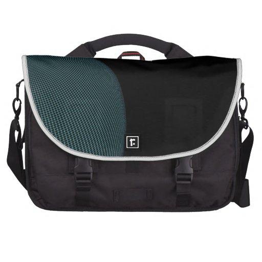 Wire Globe Laptop Messenger Bag