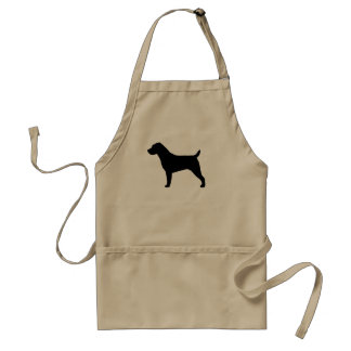 Wire Hair Jack Russell Terrier Adult Apron