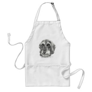 Wire-Haired Dachshund Adult Apron