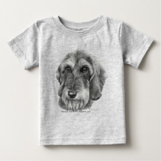 Wire-Haired Dachshund Baby T-Shirt