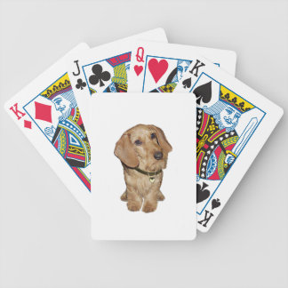 Wire Haired Dachshund (F) Bicycle Playing Cards