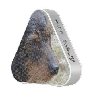 Wire Haired Daschund Dog Bluetooth Speaker