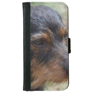 Wire Haired Daschund Dog iPhone 6/6s Wallet Case