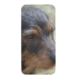 Wire Haired Daschund Dog iPhone SE/5/5s/5c Pouch