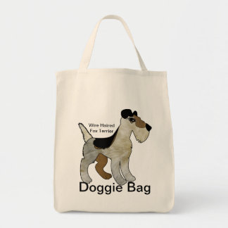 Wire Haired Fox Terrier Doggie Bag