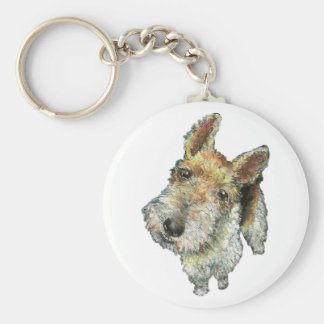 Wire-haired-fox-terrier Keychain