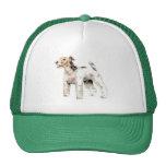 Wire Haired Fox Terrier Trucker Hat