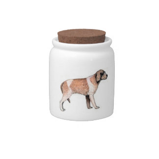 Wire Haired Pointing Griffon Candy Jar