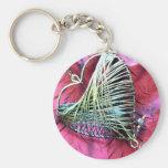 Wire Heart Keychain