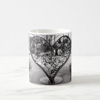 Wire Heart Mug