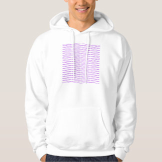 wire mesh fence purple hoodie