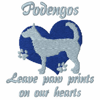 Wire Portuguese Podengos Leave Paw Prints