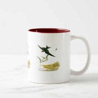 Wire-tailed Swallow Two-Tone Coffee Mug