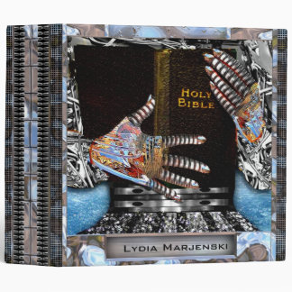 Wired for Eternity Personalized Binder