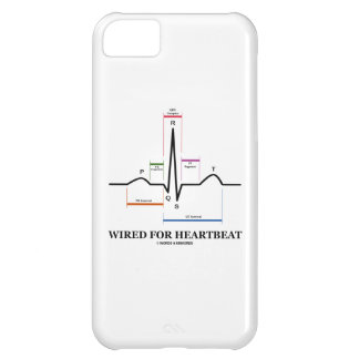 Wired For Heartbeat (Electrocardiogram) Case For iPhone 5C