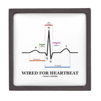 Wired For Heartbeat (Electrocardiogram) Premium Gift Box