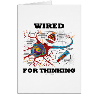 Wired For Thinking (Neuron Synapse) Cards