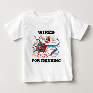 Wired For Thinking (Neuron Synapse) T-shirt
