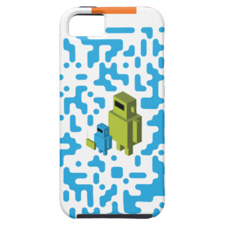 Wired Geek Dad QR Code iPhone 5 Cases
