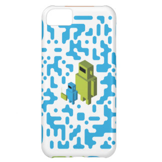 Wired Geek Dad QR Code iPhone 5C Cover