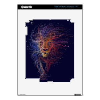 Wired Lion iPad 3 Decal