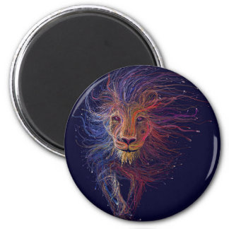 Wired Lion Magnet