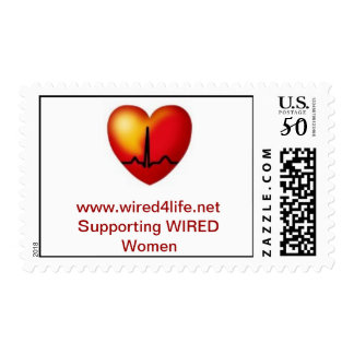 WIRED postage stamps