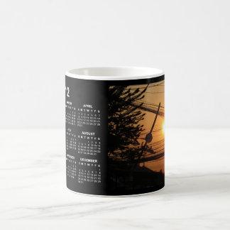 Wired Sunset 2012 Calendar BKK Thailand Coffee Mug