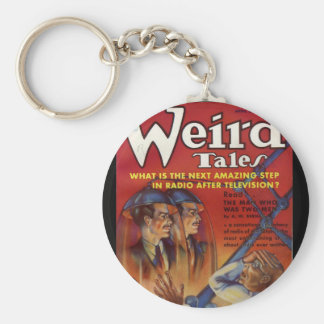 Wired Tales_Pulp Art Keychain