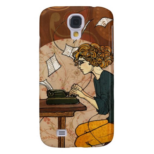 Wired to Write Galaxy S4 Cover