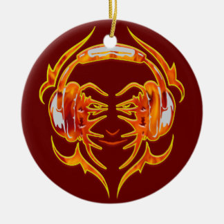 Wired Up For Music Christmas Ornament