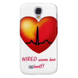 WIRED women have heart  iphone cover