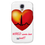 WIRED women have heart  iphone cover Samsung Galaxy S4 Case