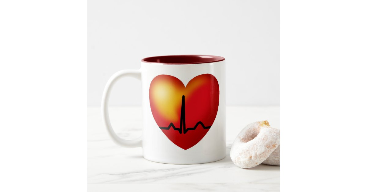 WIRED women have heart red mug   Zazzle