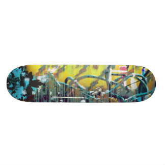 wired wood yellow skate board