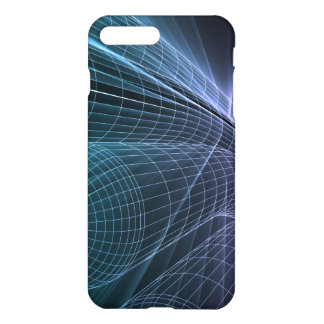 Wireframe Mesh Engineering Abstract as a Concept iPhone 7 Plus Case