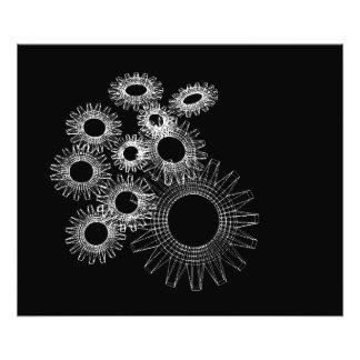 Wireframe, modelo tridimensional esquelético fotografía