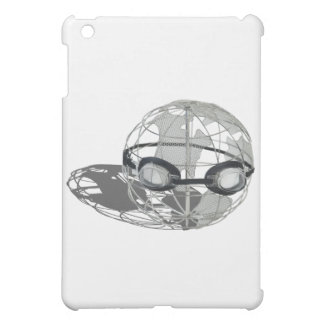WireGlobeWearingGoggles032112.png Case For The iPad Mini