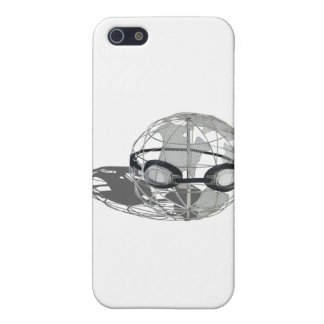 WireGlobeWearingGoggles032112.png Case For iPhone 5