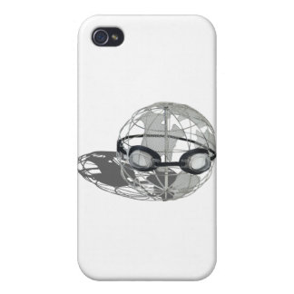 WireGlobeWearingGoggles032112.png iPhone 4/4S Cases