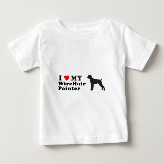 WireHair Pointer Baby T-Shirt
