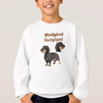 Wirehaired Dachshund Children Sweat Shirt