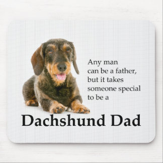 Wirehaired Dachshund Dad Mousepad