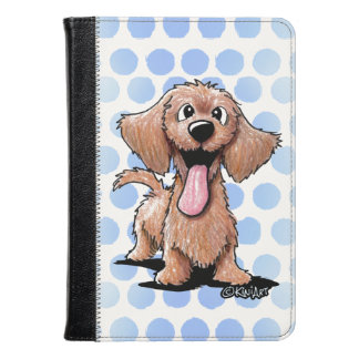 Wirehaired Dachshund KiniArt Kindle Case