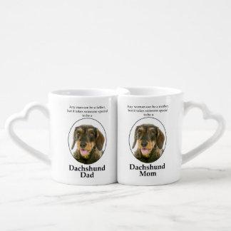 Wirehaired Dachshund Mom/Dad Mug