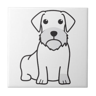 Wirehaired Dachshund Tile