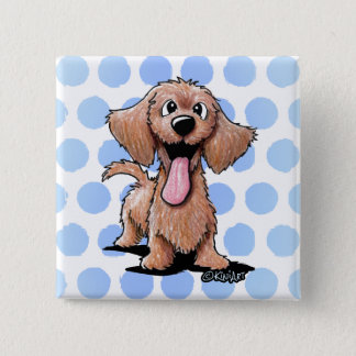 Wirehaired Doxie KiniArt Button