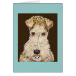 wirehaired fox terrier card