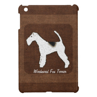 Wirehaired Fox Terrier Personalized Custom Dog iPad Mini Cover